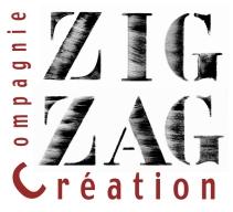 Logo Compagnie Zig Zag Création, spectacle vivant, théâtre, concerts, spectacles jeune public