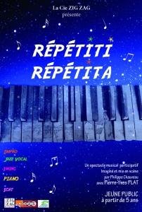 affiche repetiti BD