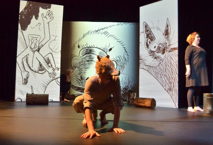 Rat et les animaux moches, la nouvelle création jeune public de la Cie Zig Zag, Angers