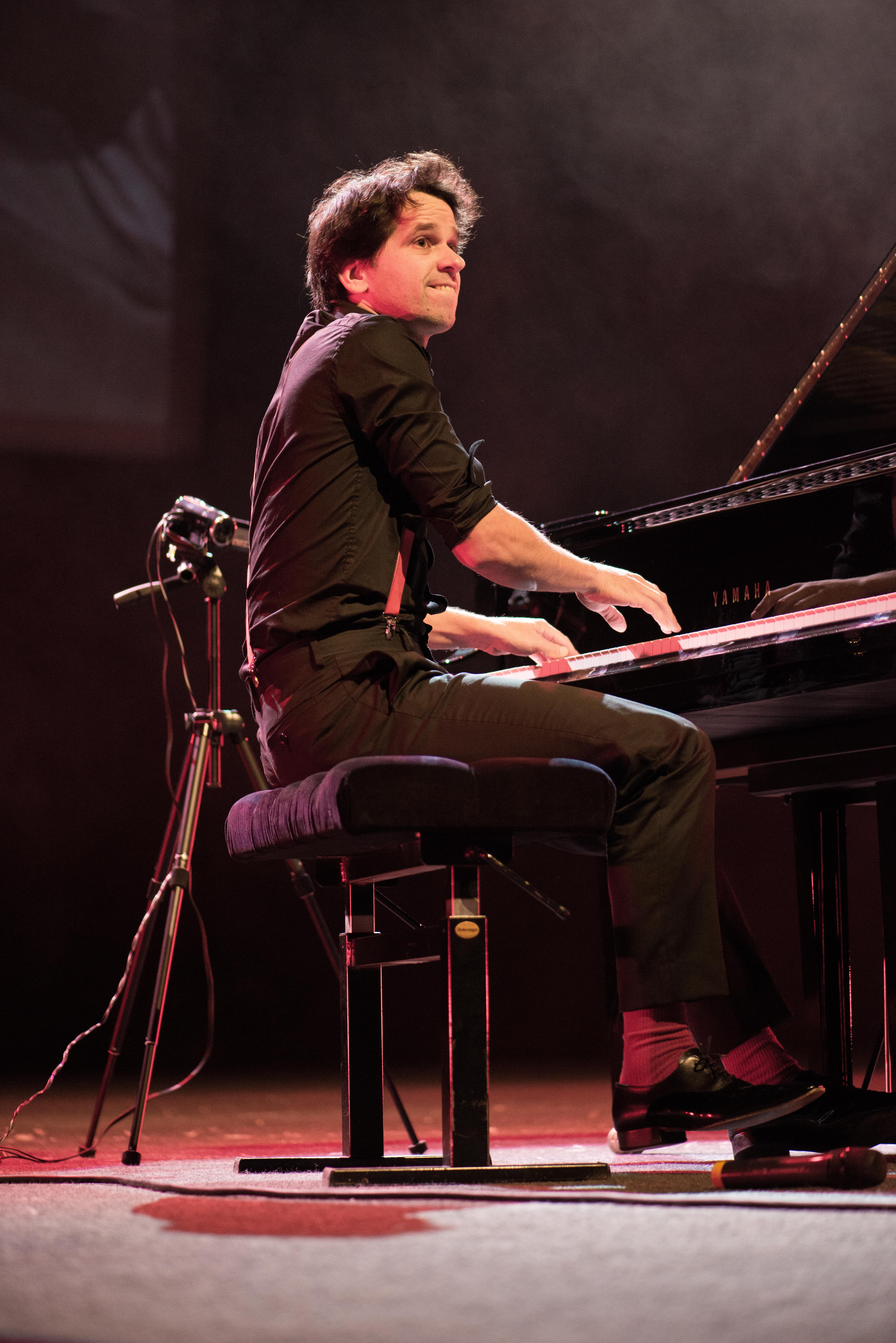 Pierre-Yves Plat, pianiste en concert
