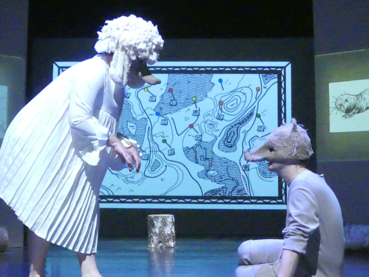 Rat et les animaux moches le spectacle